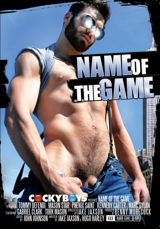 Cocky Boys Name of the Game Front cover